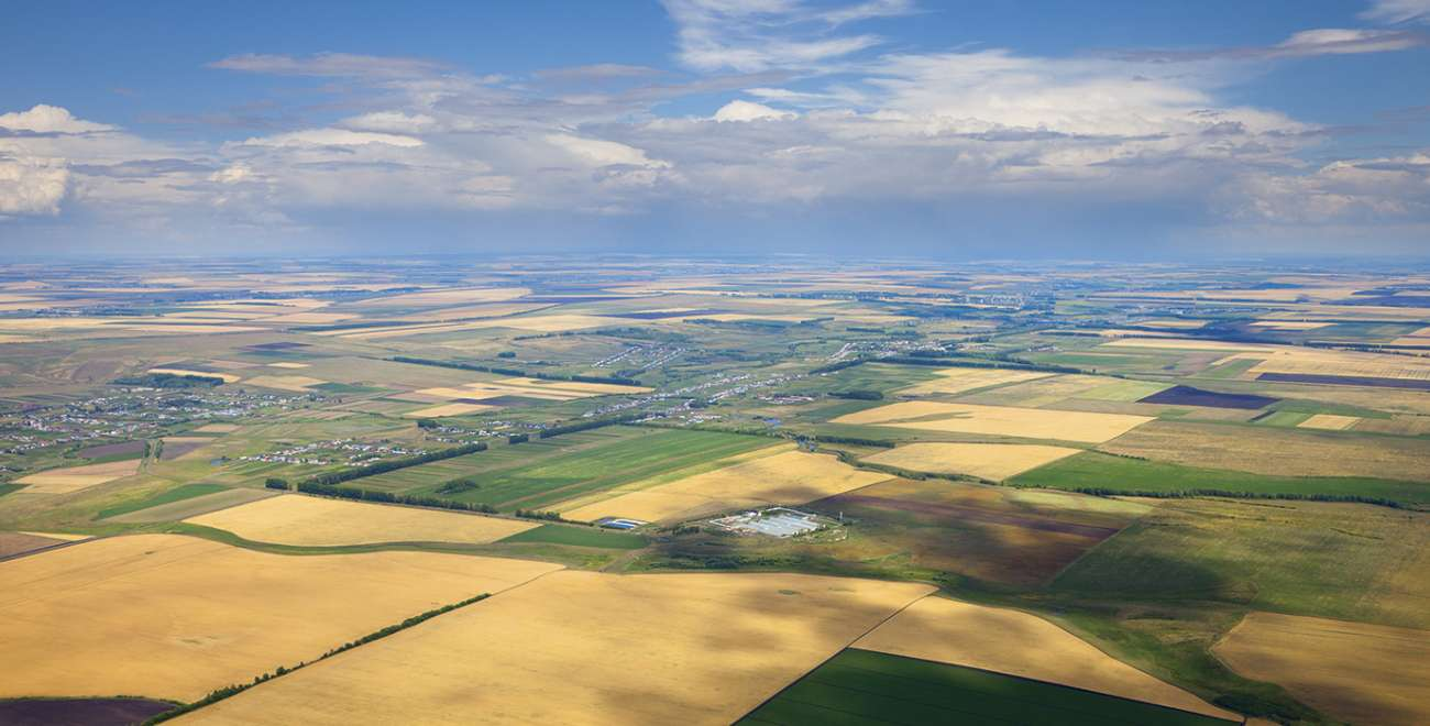 Aerial Farmland